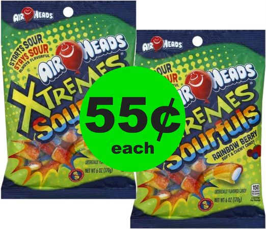 Print NOW! Get Your Sour 55¢ Airhead Xtremes Sourfuls Candy! ~ NOW at CVS!