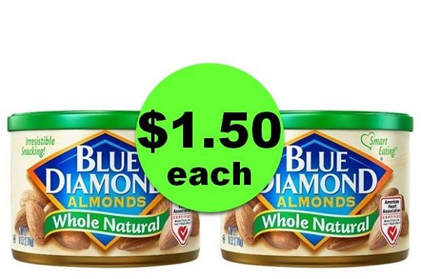 Get Your Healthy Snack On with $1.50 Blue Diamond Almonds at CVS! ~ Ad Ends Today!