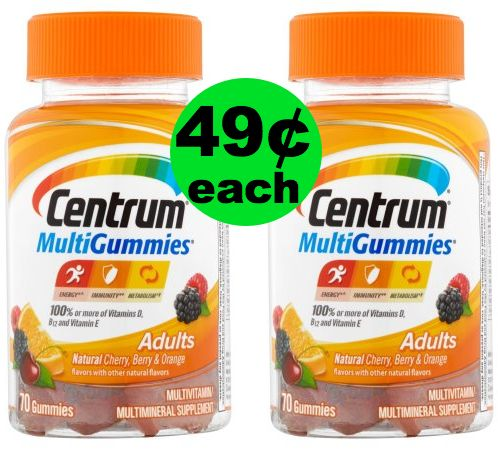 Boost Your Immunity With 49¢ Centrum MultiGummies at Publix {Reg. $7.99} ~ Ad Starts Today!