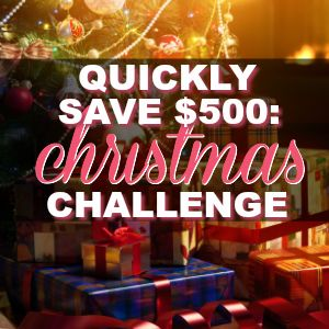 How To Save $500 Before Thanksgiving! {Join My $500 Savings Challenge!}
