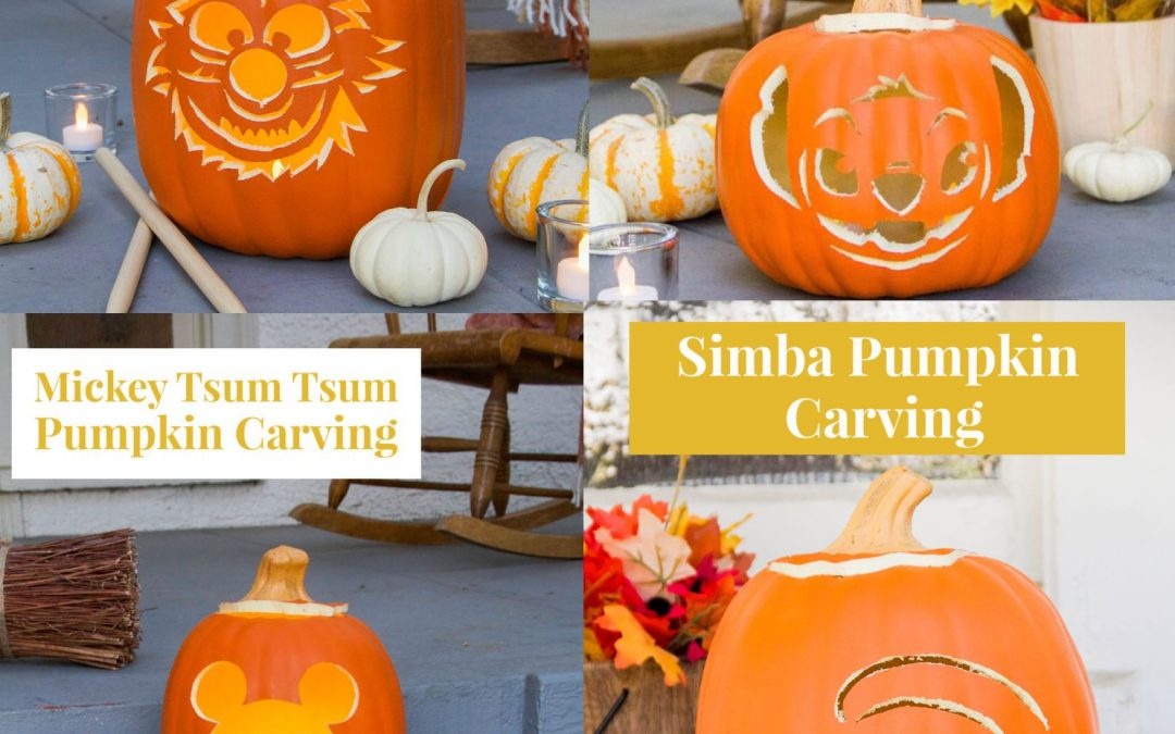 FREE Disney Pumpkin Carving Printable Templates!