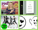 FOUR (4!) FREEbies: One-Year Subscription to Redbook Magazine, The Whole Christ Audiobook, EAS Hydration and Recovery Products and Emoji Pumpkin Templates!