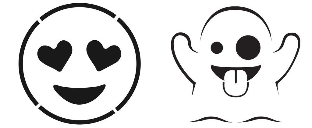 Carving Pumpkins? Print Your FREE Emoji Pumpkin Templates!