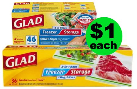 Glad Storage Or Freezer Bags Are Only 1 Each At Publix After Rebate This Week