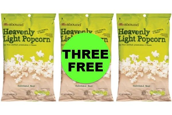 Pick Up THREE (3!) FREE Gold Emblem Abound Snacks at CVS! ~ This Week!