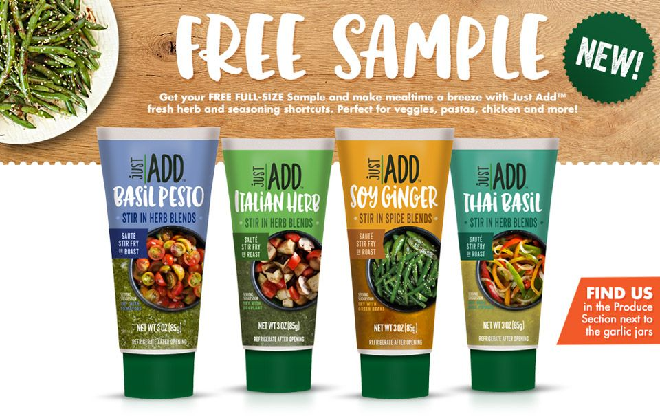 FREE Just Add Herb Blends FULL SIZE Sample!