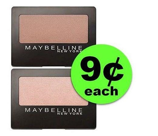 Don't Miss 9¢ Maybelline Eye Shadows at CVS! (1/7 – 1/13)