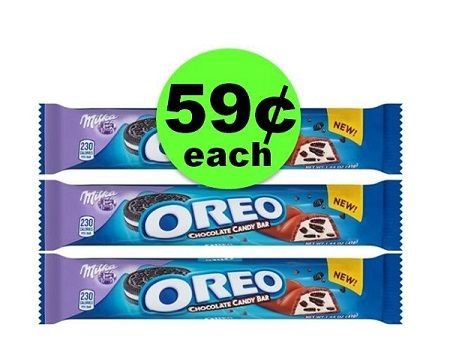 Pick Up Milka Oreo Candy Bars As Low As 59¢ Each at Publix! ~ NOW!