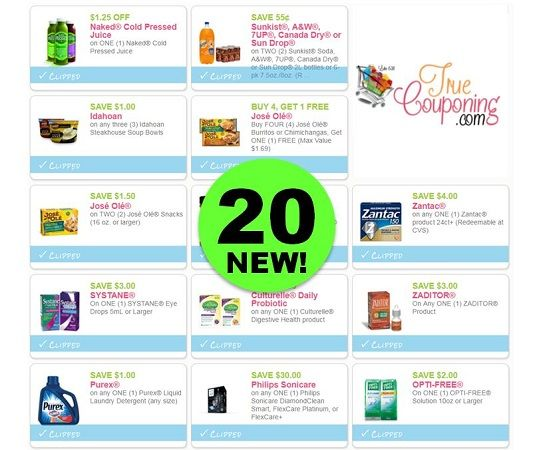 PRINT the Twenty (20!) **NEW** Coupons for Purex, Degree, Sonicare & More! ~ OVER $90 In Savings!