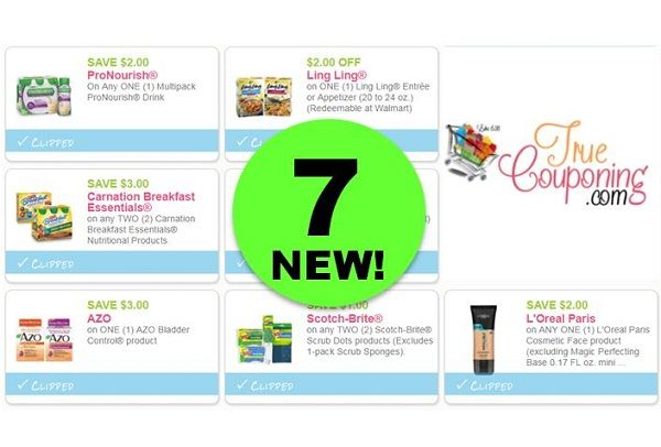 Print $14 In Savings with These SEVEN (7!) **NEW** Coupons Out Today!