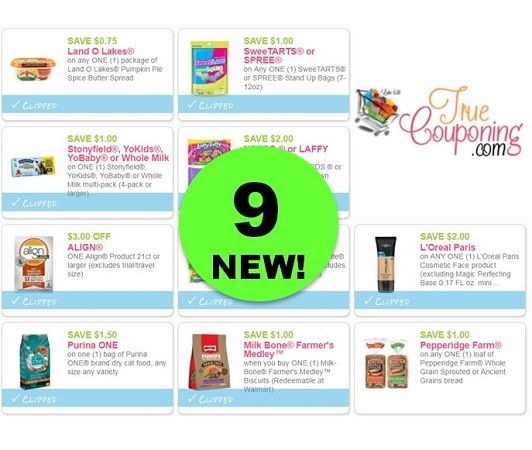 Print the NINE (9!) **NEW** Coupons for Land O'Lakes Butter, Milk-Bone Dog Treats & More!