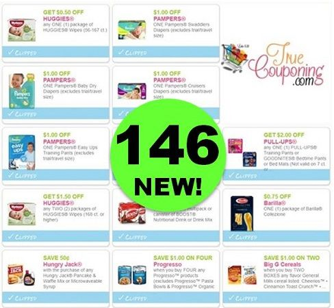 PRINT the One Hundred Forty-Six (146!) Coupons That Came Out This Week!