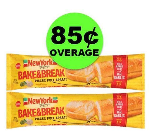 PRINT NOW for TWO (2!) FREE New York Bake & Break Garlic Bread at Publix ~ Starts Weds/Thurs!