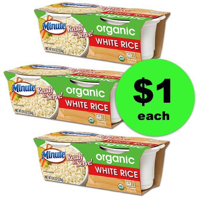For a Super Quick Side Dish, Get Minute Organic Rice Ready to Serve Cups at Publix For ONLY $1  ~ NOW!