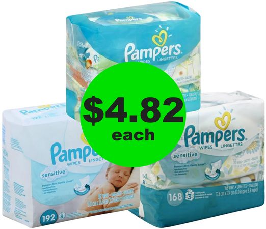 Stock Up! Pampers Wipes Refills at CVS Only $4.82! {Just 3¢ a Wipe!} ~ Happening Now!