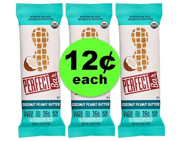 Get the Perfect Deal On Perfect Bar! ONLY 12¢ Each {Reg $2.49!} at Target (& Publix Too)! ~ Ends Sunday!