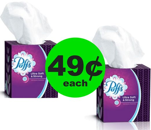 Keep the Sniffles Away! Get Puffs Tissues for 49¢ Each at CVS! ~ Right Now!