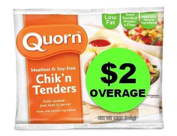 Get Paid For A Meatless Monday? Try Quorn Meatless & Soy Free Meals From Publix For FREE Plus $2 OVERAGE!