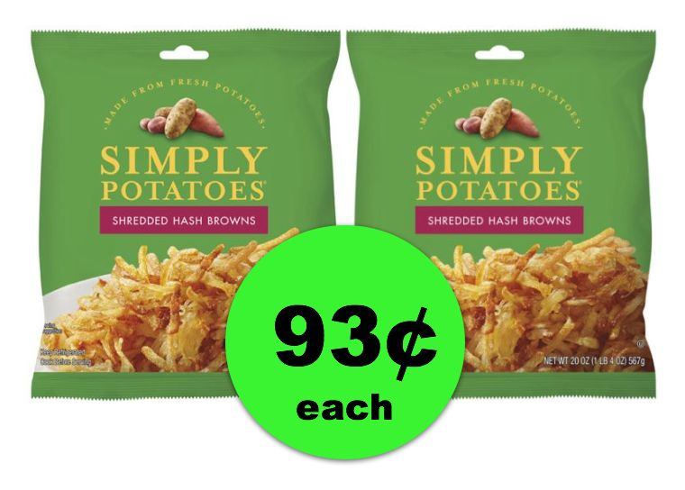 One Potato … Two Potato! Both For 93¢ Each! Simply Potatoes at SUPER LOW Price at Publix ~ Ends Tues/Weds!
