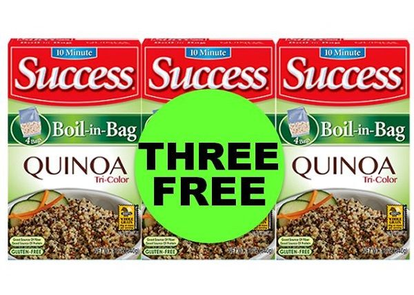 New Side Dish For the Dinnertime Rotation! Get THREE (3!) FREE Success Boil In Bag Quinoa at Publix ~ NOW!