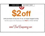 *Heads Up* This Sunday (10/22/17) We're Getting THREE (3!) Target Coupons: Candy, Health Care & Select Beverages!