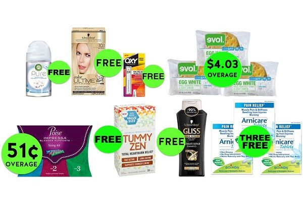 Make Sure to Get Your Twelve (12!) FREEbies & TEN (10!) Deals 54¢ Each or Less at Target! ~ Ends Today!!