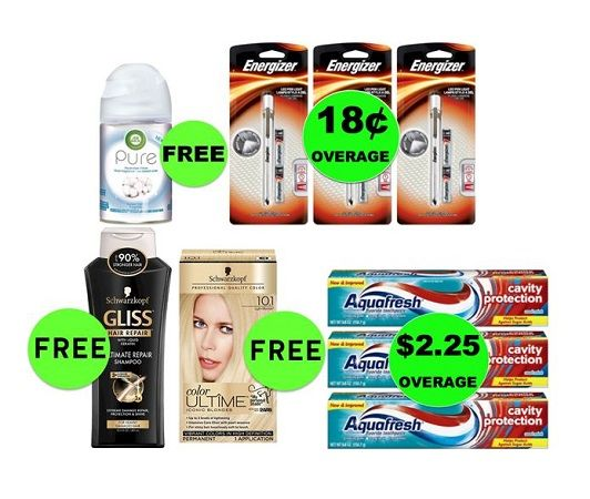 Don't Miss Your NINE (9!) FREEbies & EIGHT (8!) Deals 89¢ Each or Less This Week at Target! Ends TODAY!