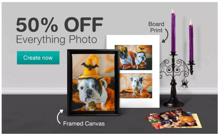 Get 50% Off Everything Photo at Walgreens ~ Ends TONIGHT {Sat. 10/28}!