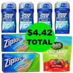 Don't Miss the Over $19 Worth of Speedstick Deodorant, Ziploc Baggies & Candy You Get This Week at Walgreens For $4.42 TOTAL!