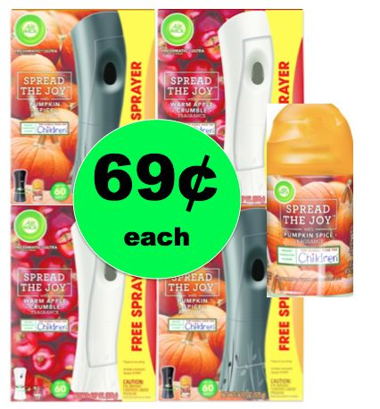 Don't Miss Out on 69¢ Air Wick Freshmatic Kits & Refills at Target! ~Ends Tomorrow!