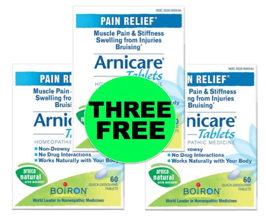 Have You Gotten Your THREE (3!) FREE Arnicare Homeopathic Pain Relief Tablets at Target! ~NOW!