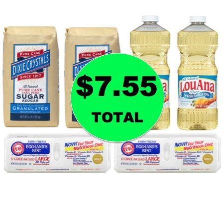 Holiday Baking Deal: Eggs, Sugar & Oil All for LESS Than $8 Total at Winn Dixie! ~Starts Weds!
