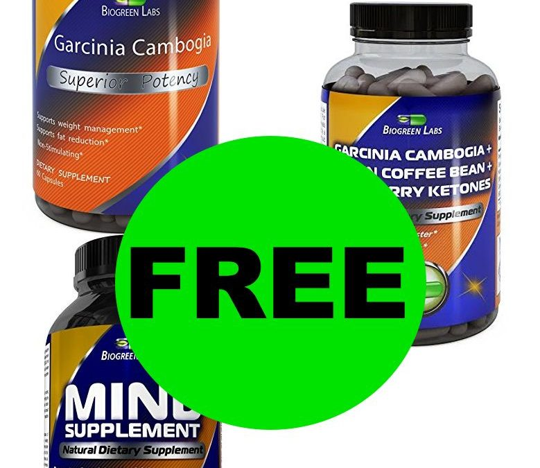 Did You Request Your FREE Biogreen Labs Product?
