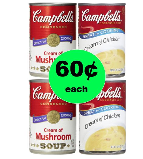 Time to Shop for Thanksgiving with 60¢ Campbell's Condensed Soups at Winn DIxie! ~Starts Wednesday!