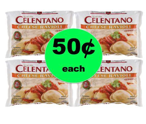 Pick Up Celentano Cheese Ravioli ONLY 50¢ Each at Winn Dixie! ~ Starts Tomorrow!