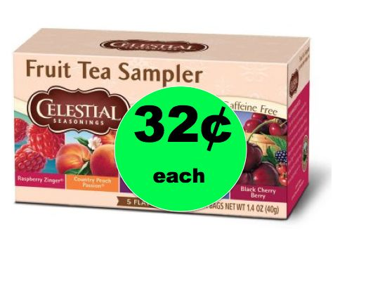 Relax with CHEAP Celestial Seasoning Tea ONLY 32¢ Each at Walmart! ~Right Now!