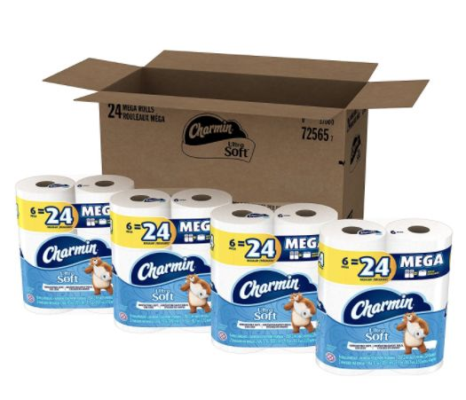 Stock Up on Charmin the Easy Way! Have It Delivered to Your Door!