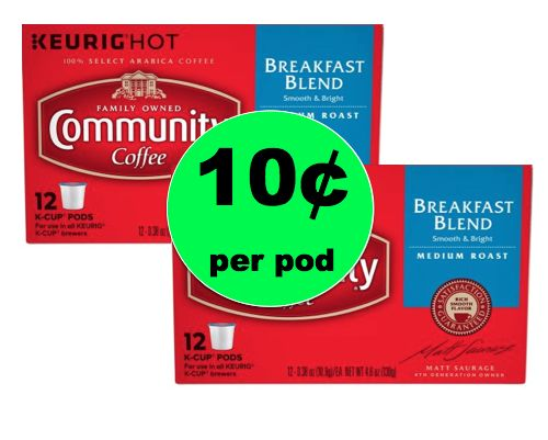Print NOW and Run to Walgreens for Community Coffee ONLY 10¢ Each K-Cup at Walgreens! ~Starts Today!