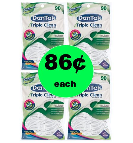 Time to Stock Up with 86¢ Dentek Floss Picks at Target! (Ends 12/30)