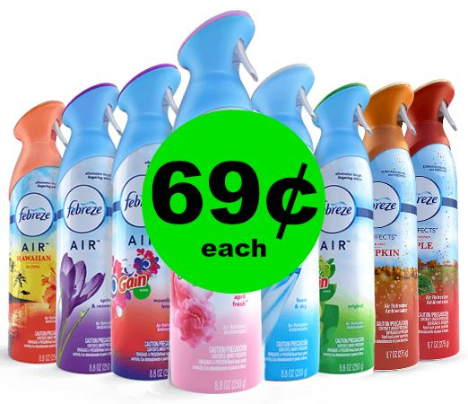 Freshen Up the House! Febreze Air Effects at Publix for 69¢ Each~ Starts Weds/Thurs!