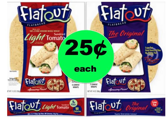 Wrap It Up with 25¢ Flatout Wraps at Winn Dixie! (Ends 1/9)