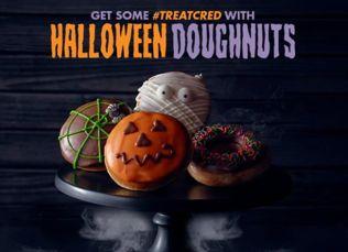 FREE Halloween Donut at Krispy Kreme!