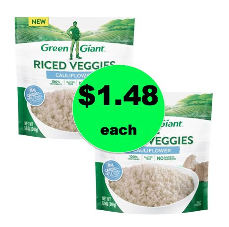 Make Some Space for $1.48 Green Giant Cauliflower Riced Veggies at Walmart! ~NOW!