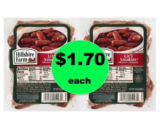 Snack Idea for Your Weekend? Grab Hillshire Farm Lit'l Smokies Only $1.70 Each at Winn Dixie! ~ Right Now!