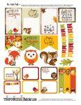 FREE Adorable Fall Planner Printable!