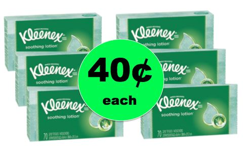 Take Care of Your Sniffles with Kleenex Tissues ONLY 40¢ per Box at Walgreens! ~ Right Now!