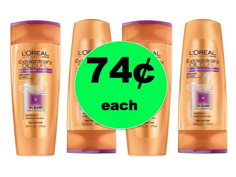 Love Your Locks with 74¢ L'Oreal Advanced Hair Care at Target! ~NOW!