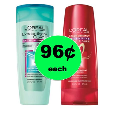 Pick Up Your CHEAP L'Oreal Expert Hair Care for ONLY 96¢ Each at Walgreens! ~Right Now!