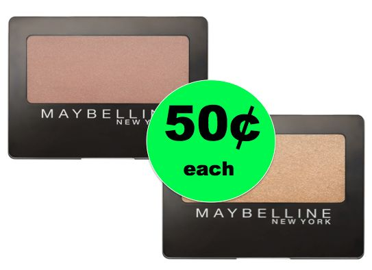 Pick Up Maybelline Eyeshadow ONLY 50¢ Each at Walgreens! ~ Right Now!