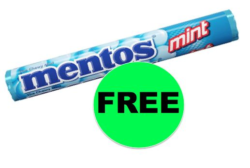 Pick Up Your FREE Mentos Mints at Walgreens {NO Coupon Needed}! ~ Starts Sunday!